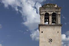 dzwon kościelny wieży Obrazy Royalty Free