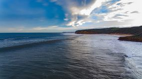 Dzwon plaża Zdjęcia Stock