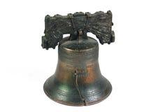 dzwon wolności Filadelfii pojedynczy white Obrazy Royalty Free
