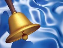 dzwon złoty royalty ilustracja