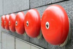 dzwonek alarmowy pożaru awaryjne Obraz Royalty Free
