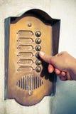 Dzwonić drzwiowego dzwon Zdjęcie Stock