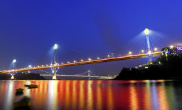 Dzwoni Kau Most i Tsing Most ma zdjęcie royalty free