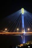 Dzwoni Kau Most przy noc zdjęcia royalty free