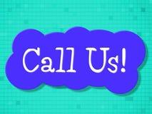Dzwoni My sposób komunikacja Komunikuje I Komunikuje ilustracja wektor