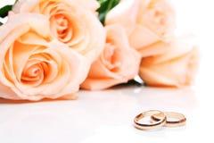 dzwoni róż target1048_1_ obrazy royalty free