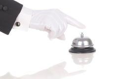 dzwonienie dzwonkowa kamerdynerska usługa Zdjęcia Royalty Free