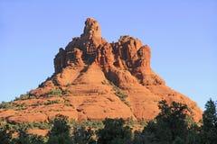 Dzwonkowa Rockowa formacja W Sedona Arizona Obrazy Stock