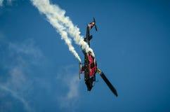 Dzwonkowy AH-1 kobry pokaz podczas Radomskiego pokazu lotniczego 2013 Zdjęcie Royalty Free