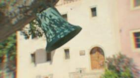Dzwonkowy chlanie tworzący z paralaksa skutkiem zbiory wideo