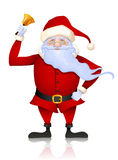 dzwonkowy Claus dzwoni Santa Obraz Stock