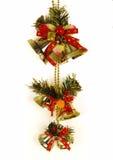 dzwonkowy drzwiowy złoty ornament Zdjęcia Stock