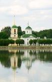 dzwonkowy kościelny nieruchomości kuskovo Moscow wierza Obrazy Royalty Free