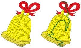 Dzwonkowy labirynt obraz royalty free