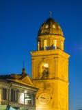 Dzwonkowy miasteczko stary miasteczko Sirolo, Conero, Marche, Włochy zdjęcie stock