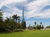 dzwonkowy Perth łabędź wierza Zdjęcia Stock