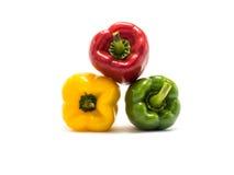 Dzwonkowy pieprz jest składnikiem w zdrowej diecie Obraz Royalty Free