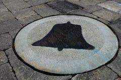 Dzwonkowy symbol Fotografia Royalty Free