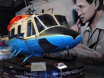 Dzwonkowy UH-1N Bliźniaczy Huey przy Tajlandzkim muzeum Obrazy Stock