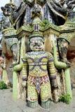 Dzwonkowy wierza antyk przy Watem Phraya Tham Worawihan obraz stock