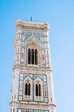 Dzwonkowy wierza Giotto, Florencja Fotografia Royalty Free