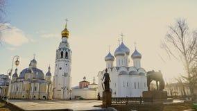 Dzwonkowy wierza i katedra zbiory