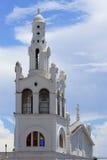 Dzwonkowy wierza Iglesia De Los angeles Altagracia kościół zdjęcia stock