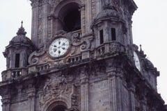 Dzwonkowy wierza katedra Santiago compostela Zdjęcie Royalty Free