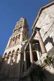 Kamienna fasada katedra Zdjęcie Stock