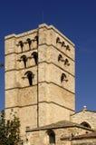 Dzwonkowy wierza Katedralny Zamora, Hiszpania Obrazy Royalty Free