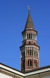 Dzwonkowy wierza Mediolan, Włochy - - San Gottardo w Corte kościół - Obrazy Stock