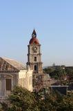 Dzwonkowy wierza na Rhodes Obraz Stock
