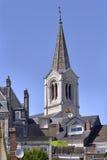 Dzwonkowy wierza Pornic w Francja Zdjęcia Royalty Free