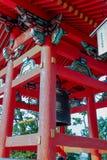 Dzwonkowy wierza przy Kiyomizu świątynią obraz stock
