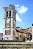 Dzwonkowy wierza Sacro Monte di Varese, Włochy Zdjęcia Stock