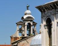 Dzwonkowy wierza - San Giacomo apostoł obraz royalty free