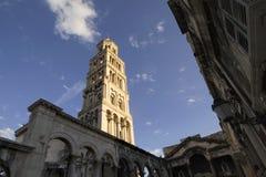 Dzwonkowy wierza St. Domnius katedra Obrazy Stock