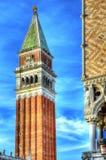 Dzwonkowy wierza St Mark kwadrat Zdjęcia Royalty Free