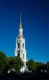 Dzwonkowy wierza St Nicholas Morska katedra Obrazy Stock