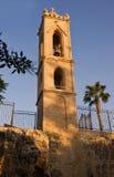 Dzwonkowy wierza w Agia Napa Średniowiecznym monasterze Fotografia Royalty Free