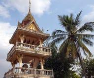 Dzwonkowy wierza w Buddyjskiej świątyni (2) fotografia royalty free