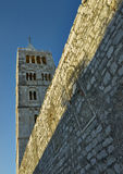 Dzwonkowy wierza w ranku świetle Fotografia Stock