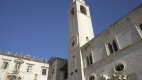 Dzwonkowy wierza 15 wiek w Dubrovnik zbiory