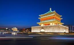 Dzwonkowy wierza Xian Zdjęcia Royalty Free