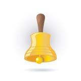 dzwonkowy złoto Obrazy Stock