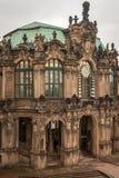 Dzwonkowy zegar Zwinger w Drezdeńskim zdjęcie royalty free