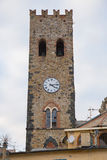 dzwonkowy zegarowy wierza zdjęcia royalty free