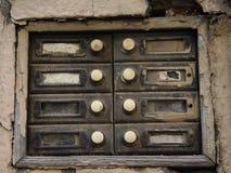 Dzwonkowych guzików deska zdjęcia stock