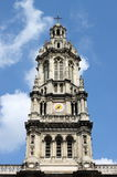 Dzwonnica Świątobliwy trójca kościół w Paryż Zdjęcia Stock