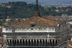 Dzwonnica basztowy Florencja Zdjęcie Stock